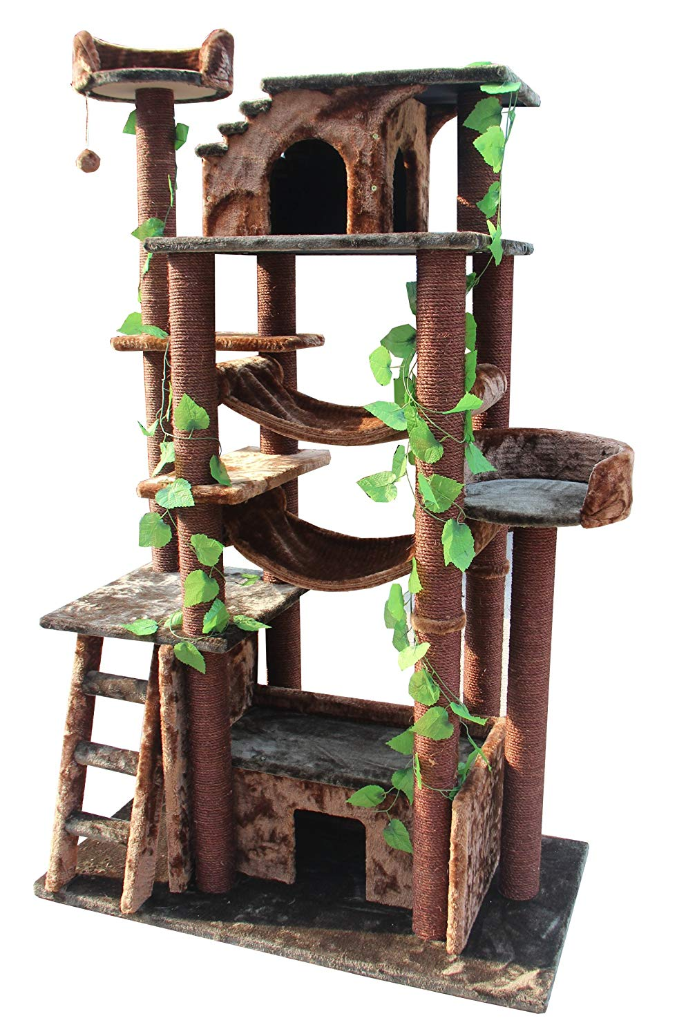 Kitty Mansions Amazon Cat Tree Review