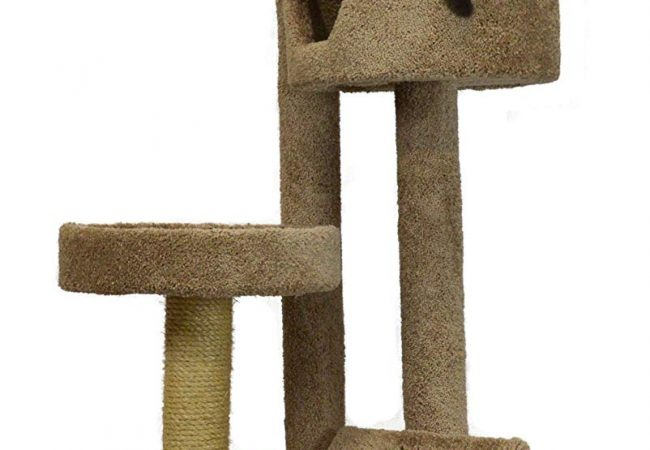 "Molly and Friends ""Fluffy's Favorite"" Premium Handmade 4-Tier Cat Tree Review"