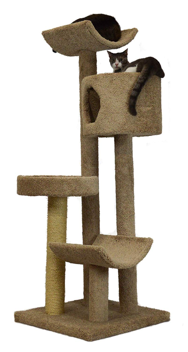 Molly and Friends Fluffy's Favorite Premium Handmade 4-Tier Cat Tree Review