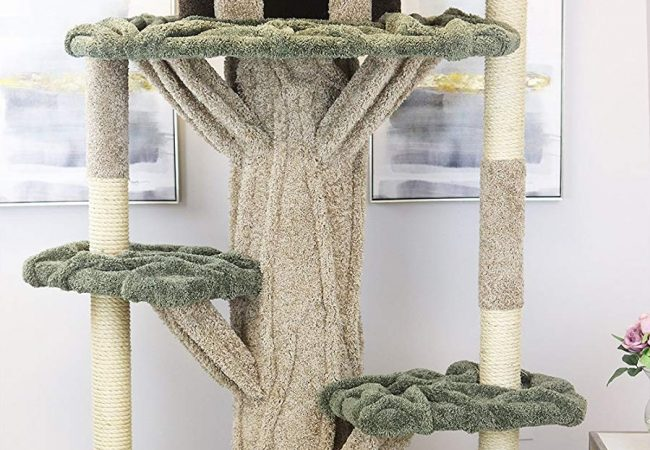 New Cat Condos Premier 7′ Tall Cat Playground Review