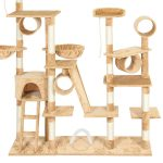 Best Choice Products 96in Cat Tree Scratcher Condo Palace Play Furniture Review